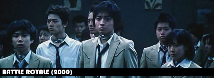 Battle Royale (2000) -  Directed by Kinji Fukasaku.