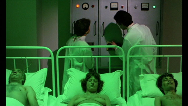 Just a typical day in an 80's Italian hospital.