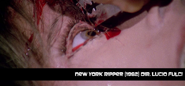New York Ripper (1982) Dir.Lucio Fulci