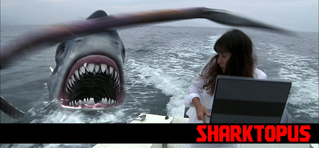 Sharktopus (2010) - Directed by Declan O'Brien.