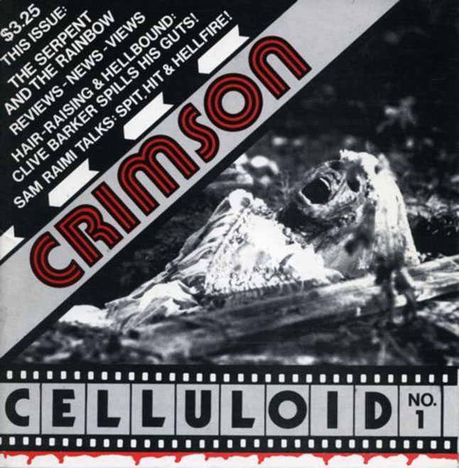 Crimson Celluloid, No 1, 1988.