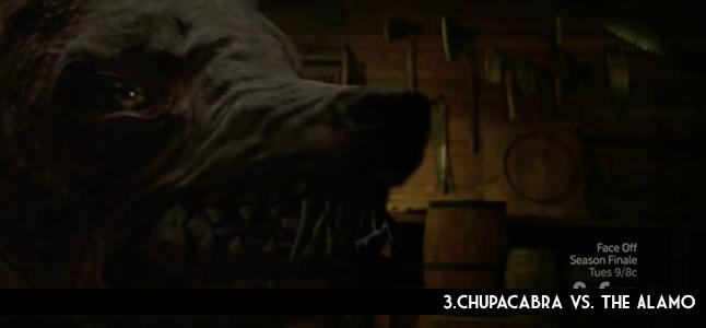 3.Chupacabra vs