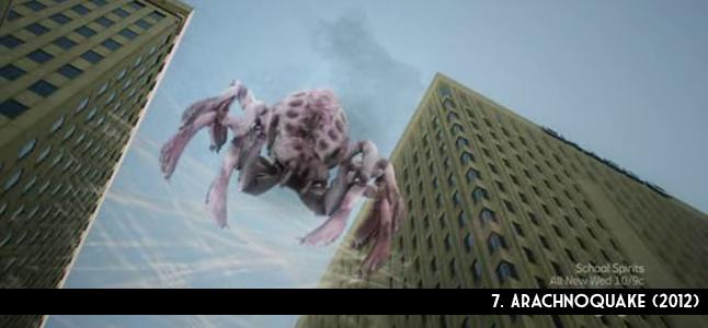7. Arachnoquake (2012)