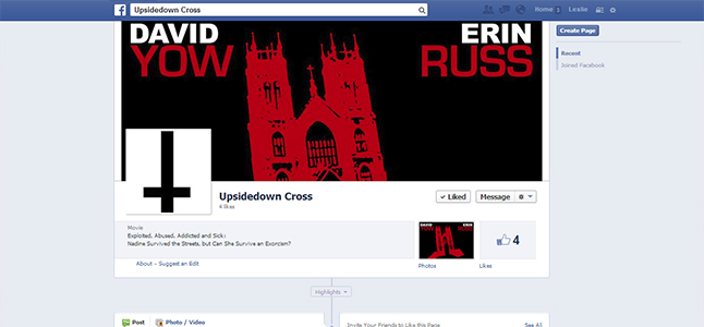 Click here to join the Undersidedown Cross Facebook group.