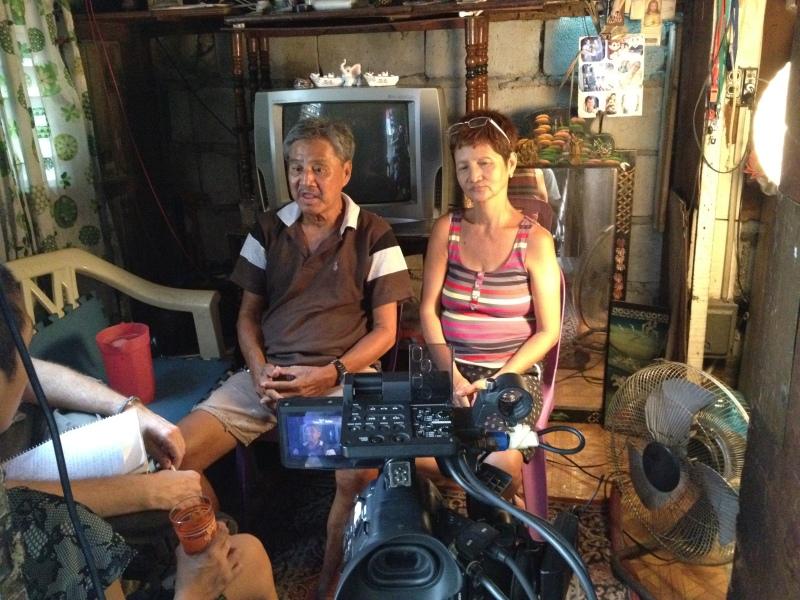 Celing and Editha de la Cruz interview, Pasay City 2013