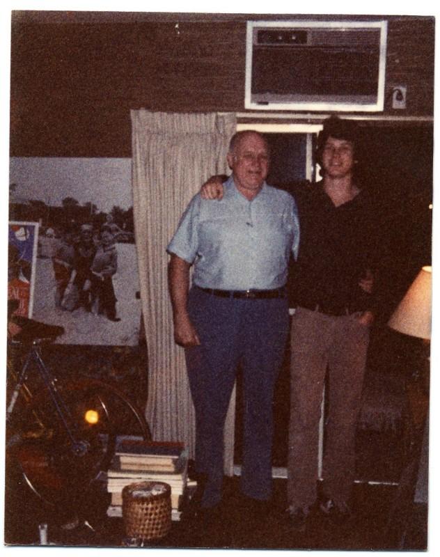 Larry & MT 1984